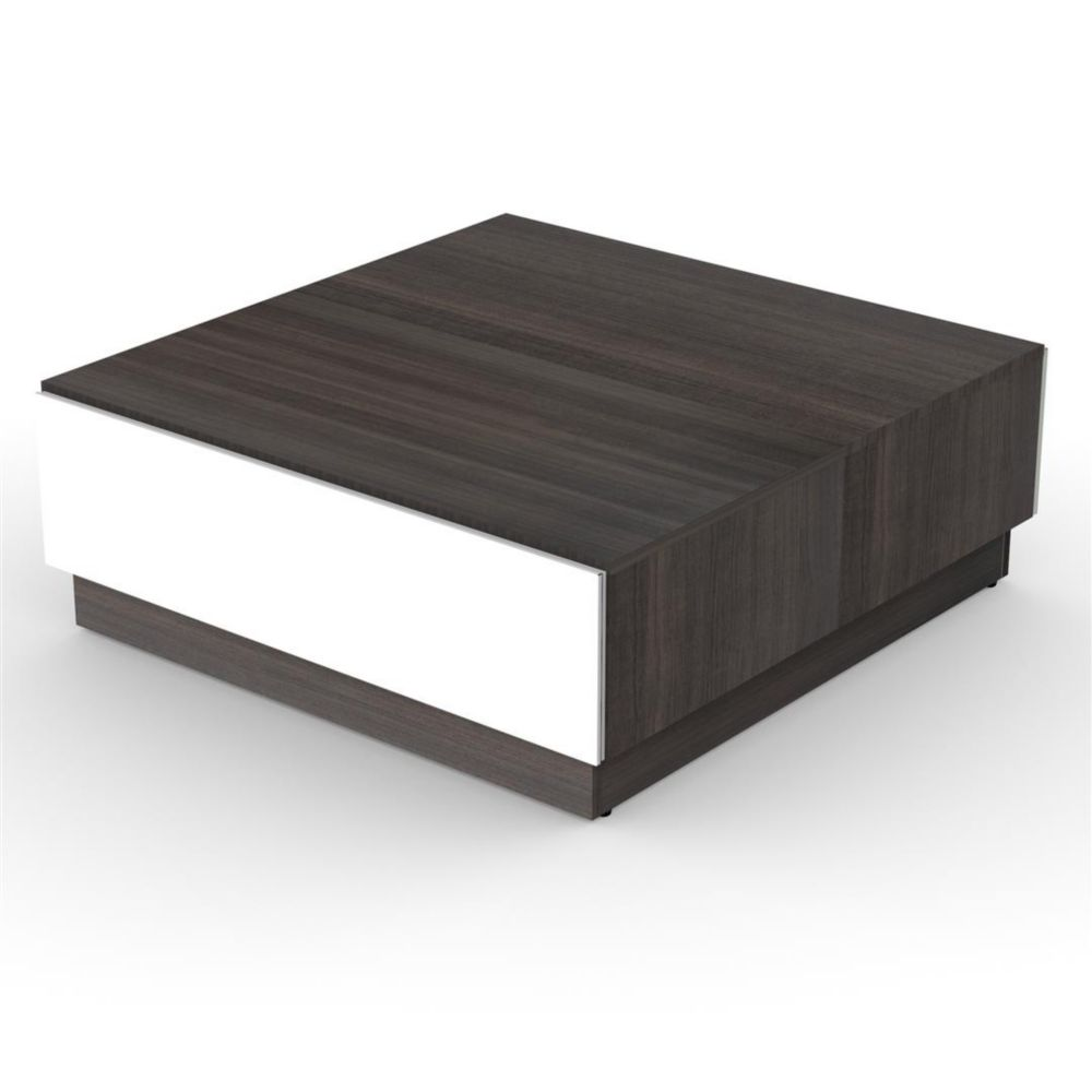 Allure Coffee table with Enclosed Storage from Nexera