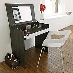 Nexera Maquilleuse Blvd avec rangement et miroir intégré | Home ...