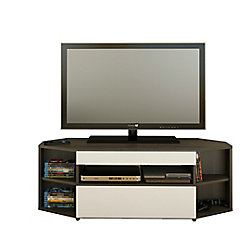 Nexera Allure 47.75-inch x 16.75-inch x 18.5-inch TV Stand in Black