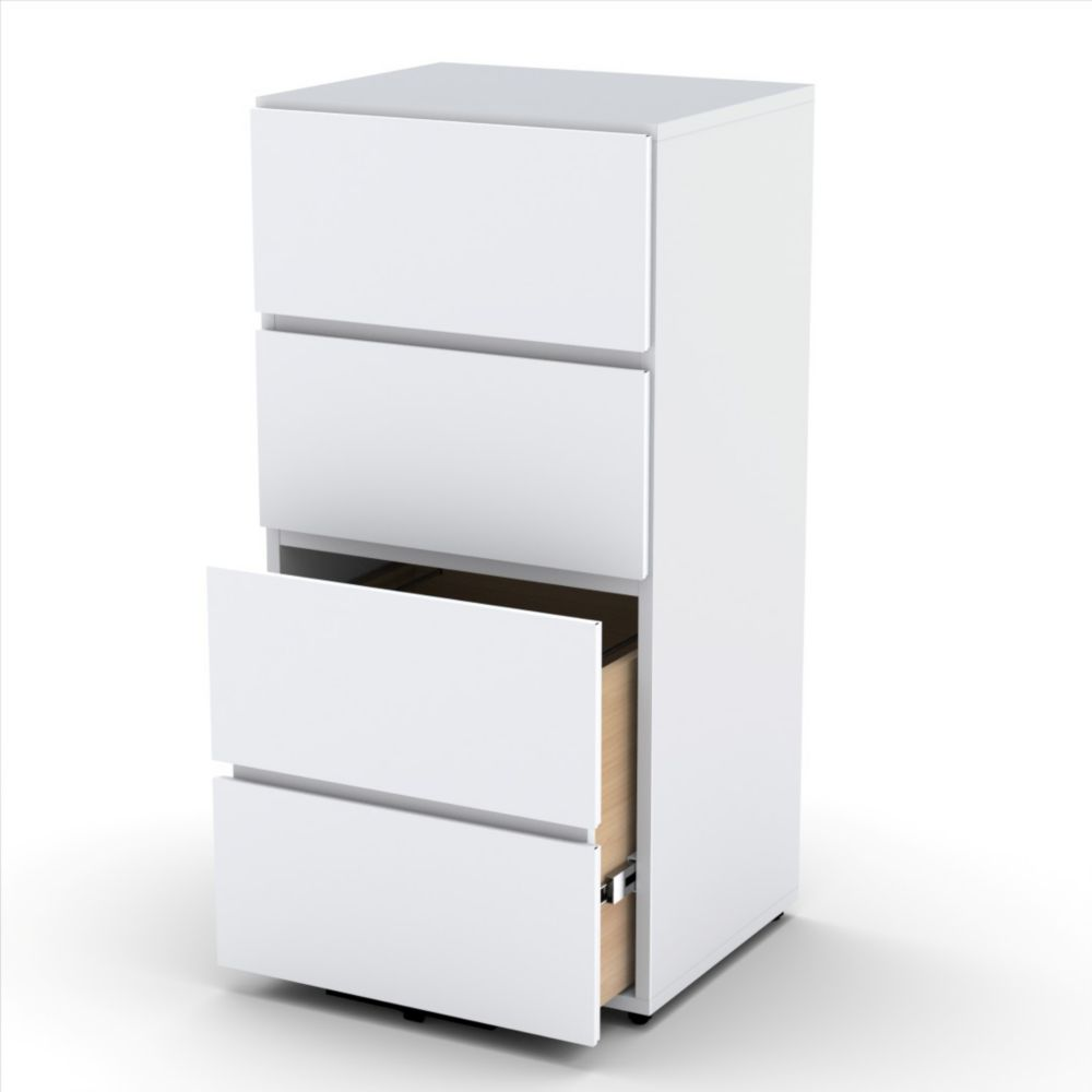 Blvd 3-Drawer Storage Unit with Filing Drawer from Nexera 220303 Canada Discount