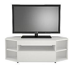 Blvd 47.75-inch x 16.75-inch x 18.5-inch TV Stand in White