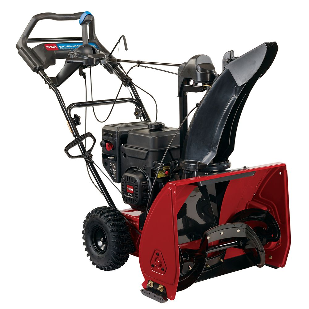 SnowMaster 824 QXE Gas Snow Blower with 24-Inch Clearing Width