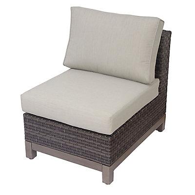 Hampton Bay Ann Arbor Armless Patio Chair | The Home Depot Canada