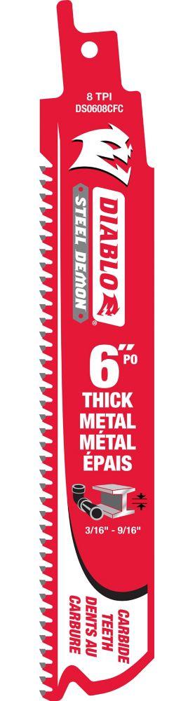 Lame alternative pour le metal 6 po.