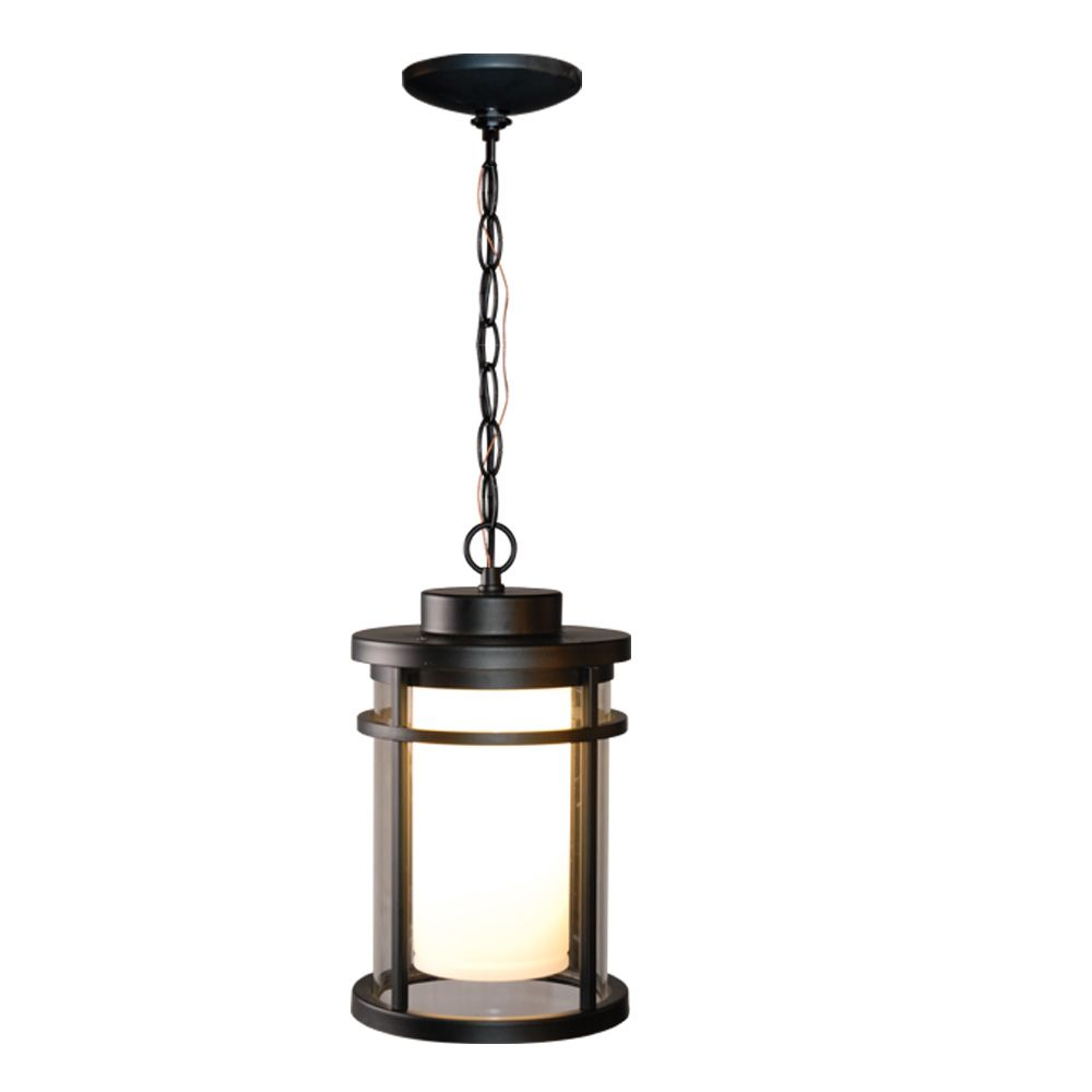 Home Decorators Collection 9w Black Led Outdoor Hanging Pendant