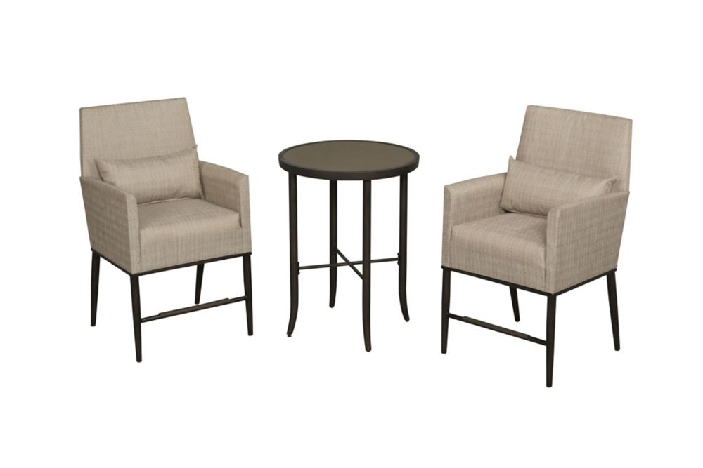 Hampton Bay Aria 3-Piece Balcony Set