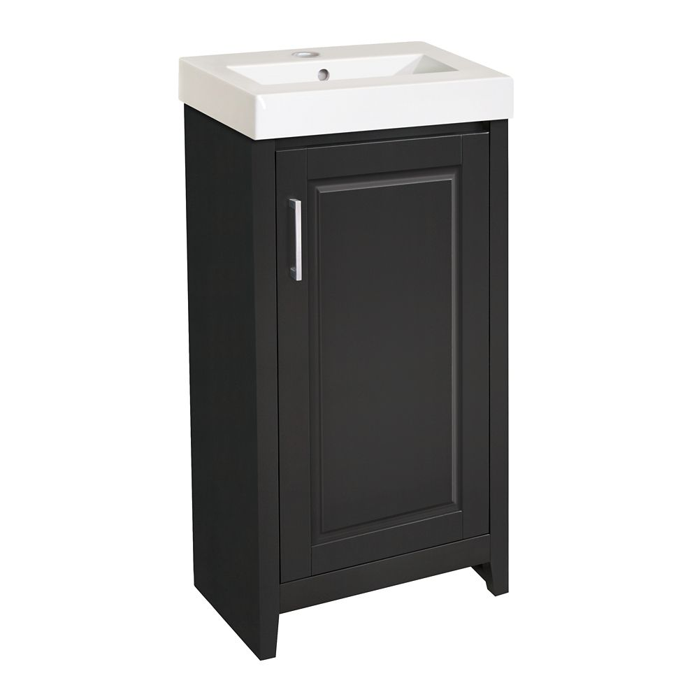 Gretta 17 1/2-inch W Vanity Base in Dark Chocolate Finish