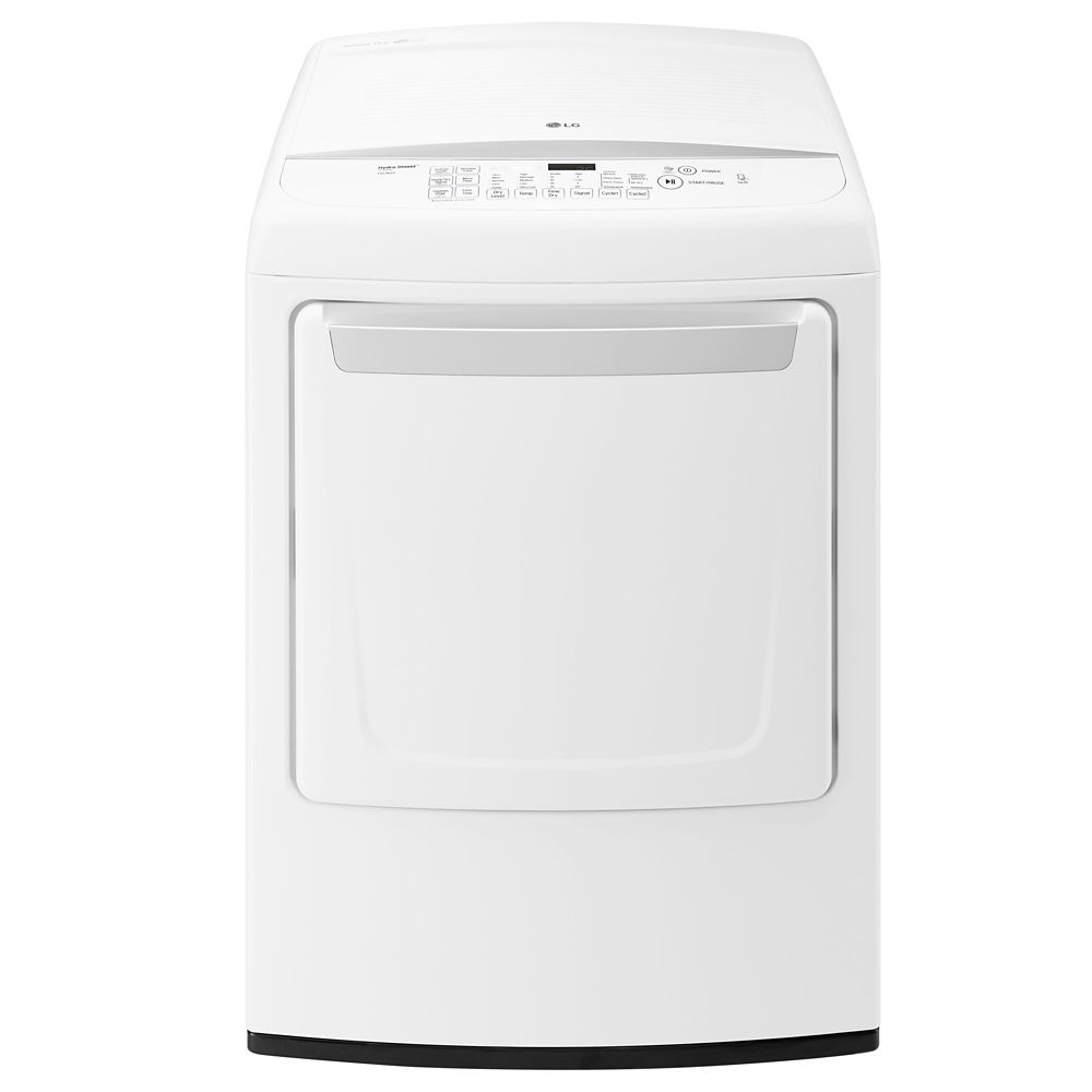 7.3 cu. ft. Ultra Large Capacity Electric Dryer with Sensor Dry in White