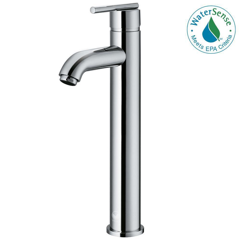 Seville Bathroom Vessel Faucet in Chrome Finish