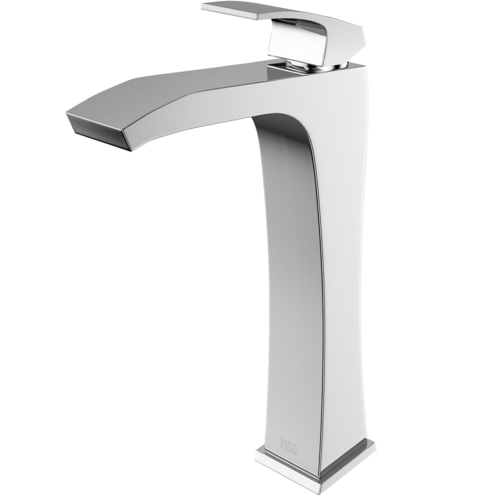 Blackstonian Bathroom Vessel Faucet in Chrome