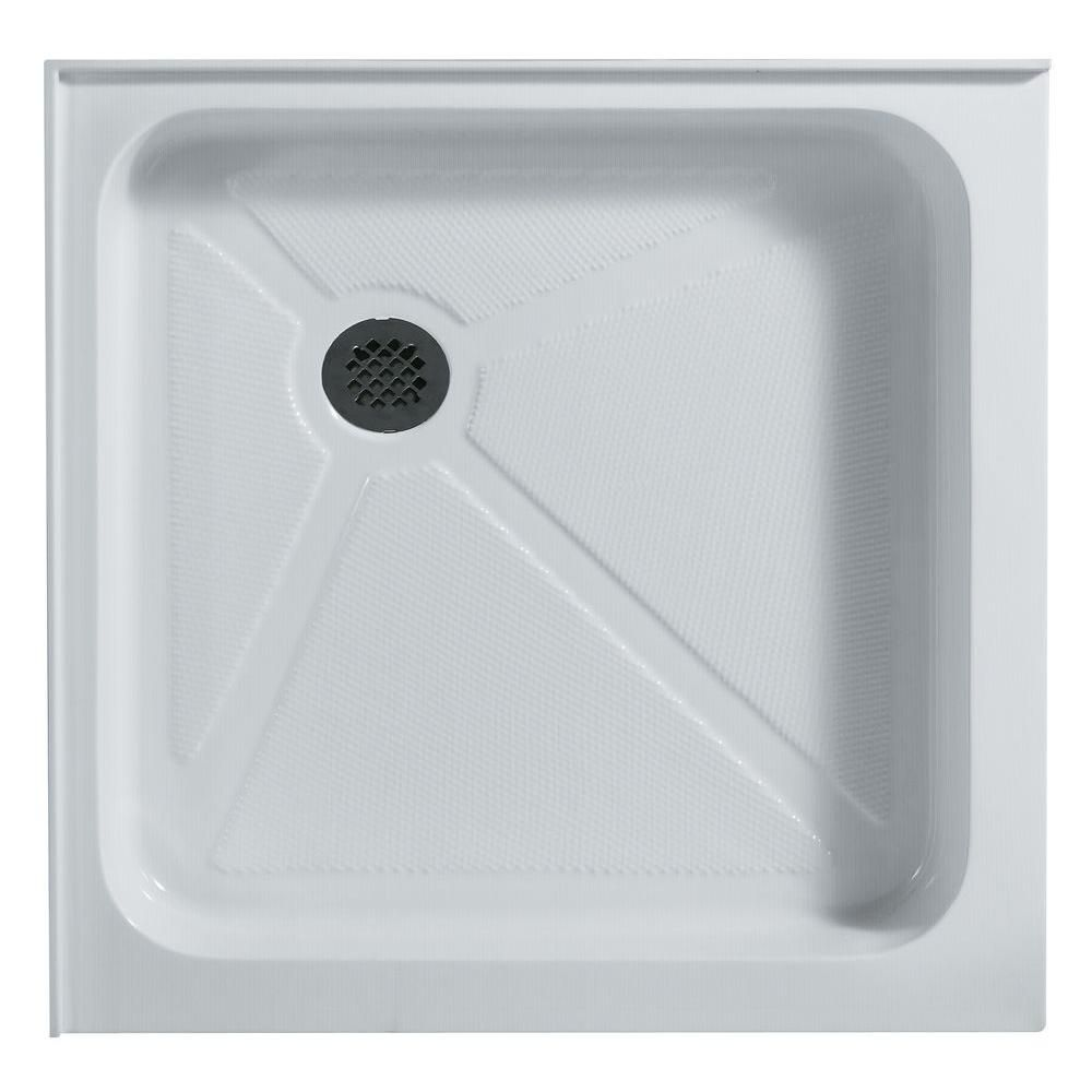 White Shower Tray 36 Inch by 36 Inch