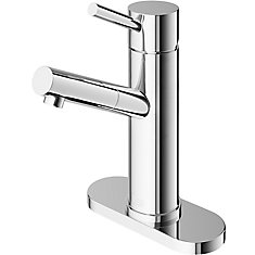 Noma Single-Handle Faucet with Deck Plate in Chrome