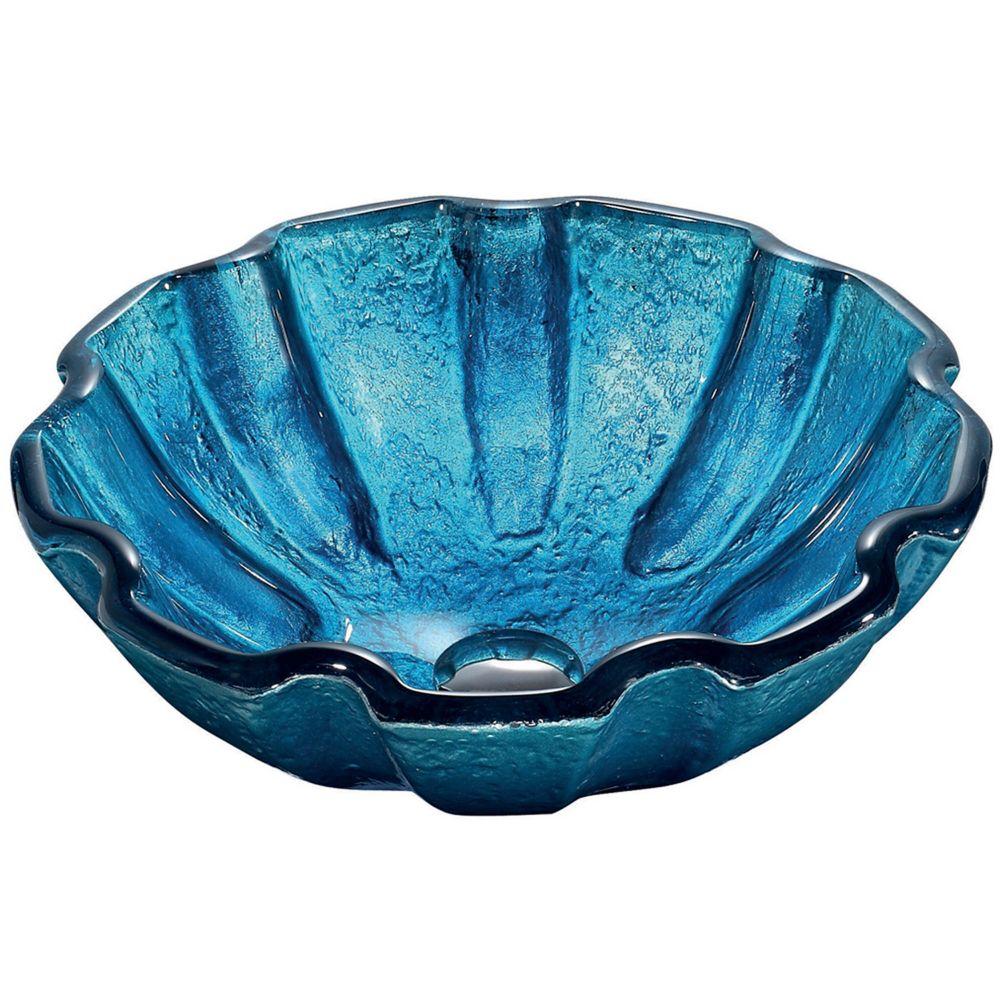 Mediterranean Glass Vessel Sink