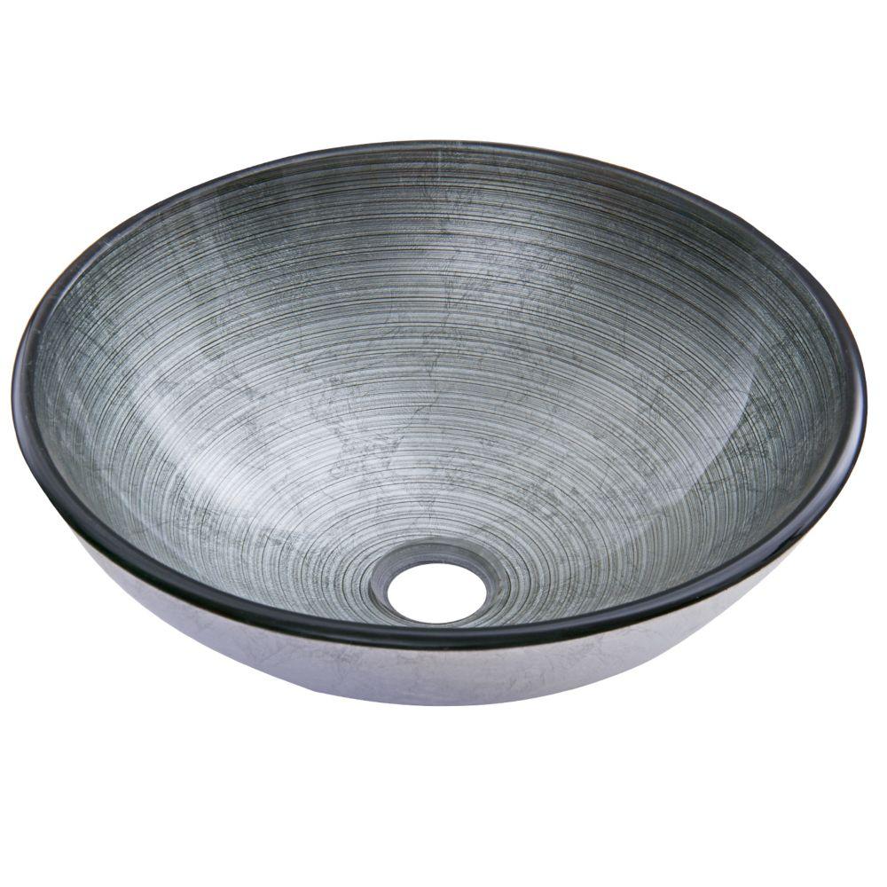 Lavabo en verre Silver