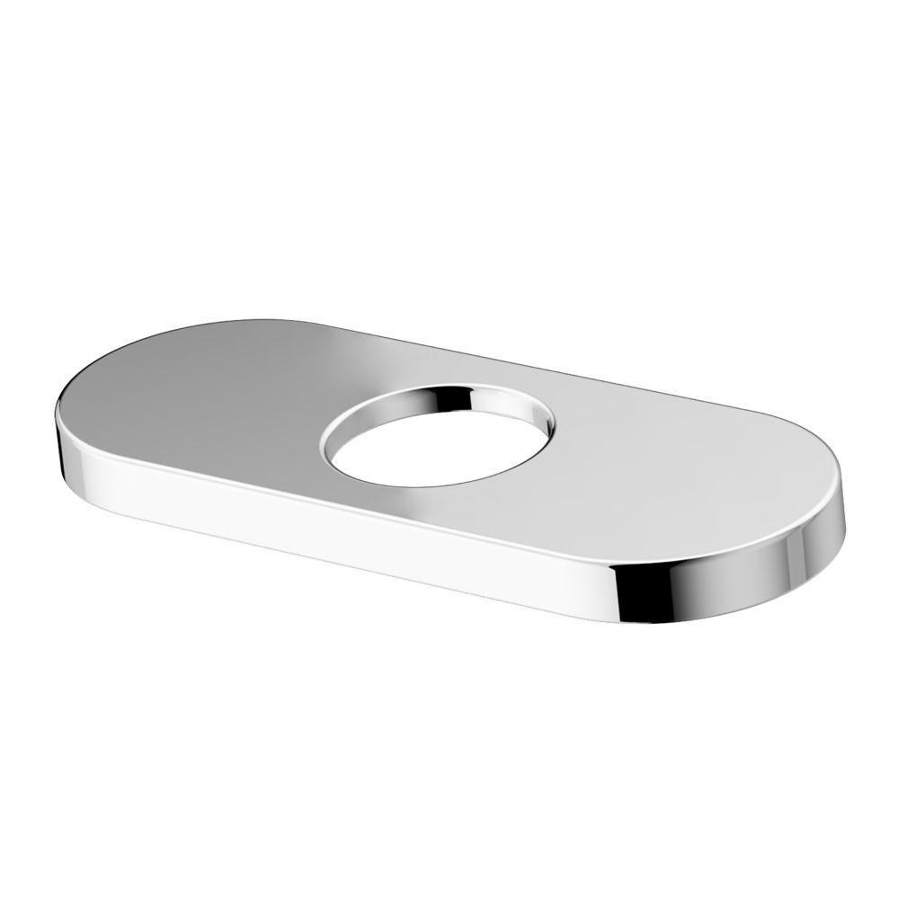 Chrome Bathroom Deck Plate 4 Inch