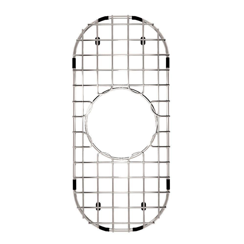 Chrome Kitchen Sink Grid 6 3/4 Inch by 14 Inch