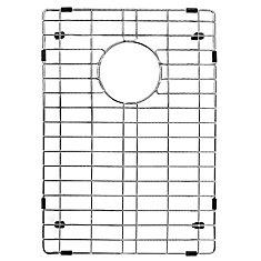 12-inch x 18-inch Chrome Kitchen Sink Grid