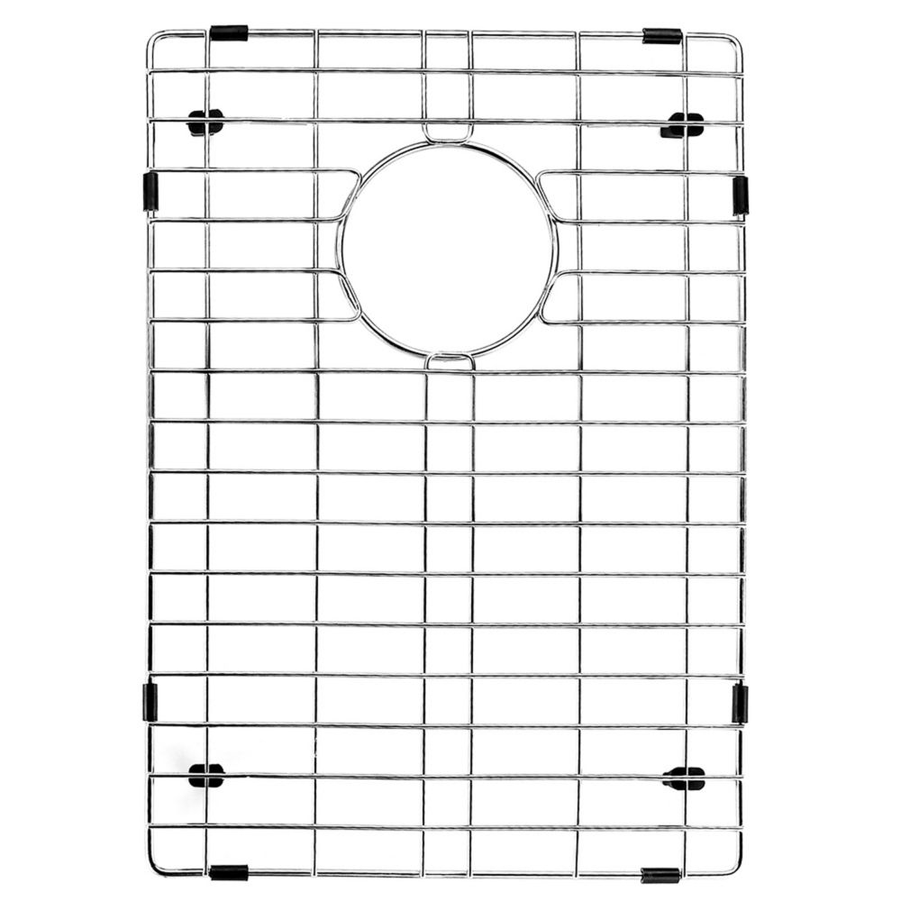 Chrome Kitchen Sink Grid 12 Inch by 18 Inch