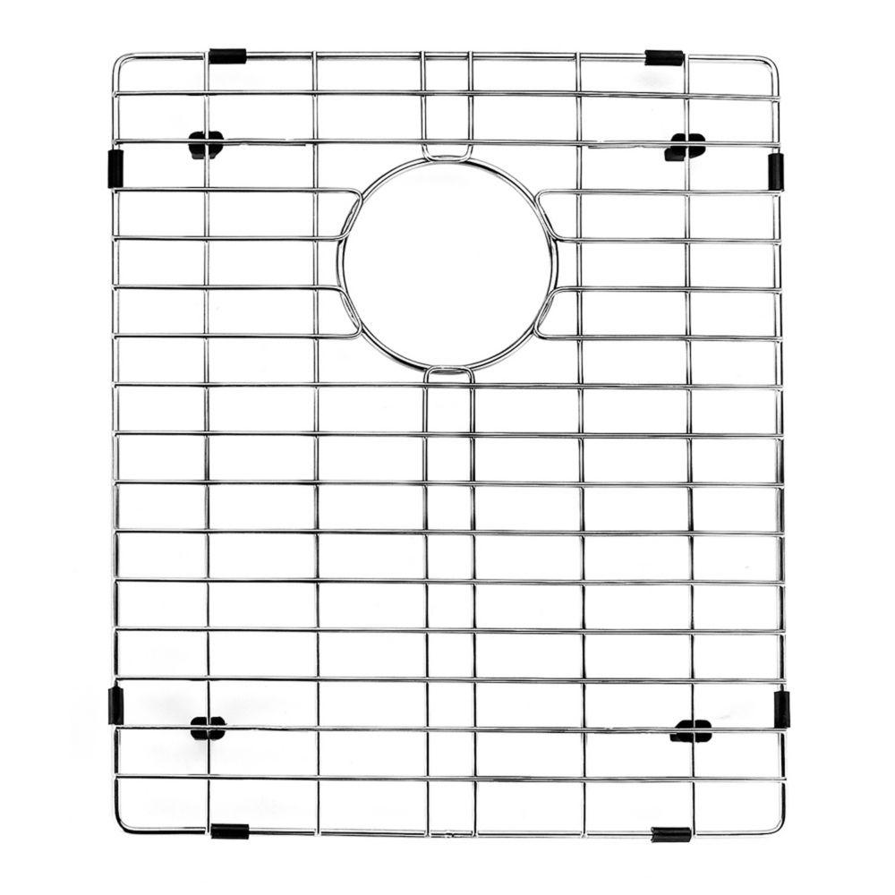 14-inch x 16-inch Chrome Kitchen Sink Grid
