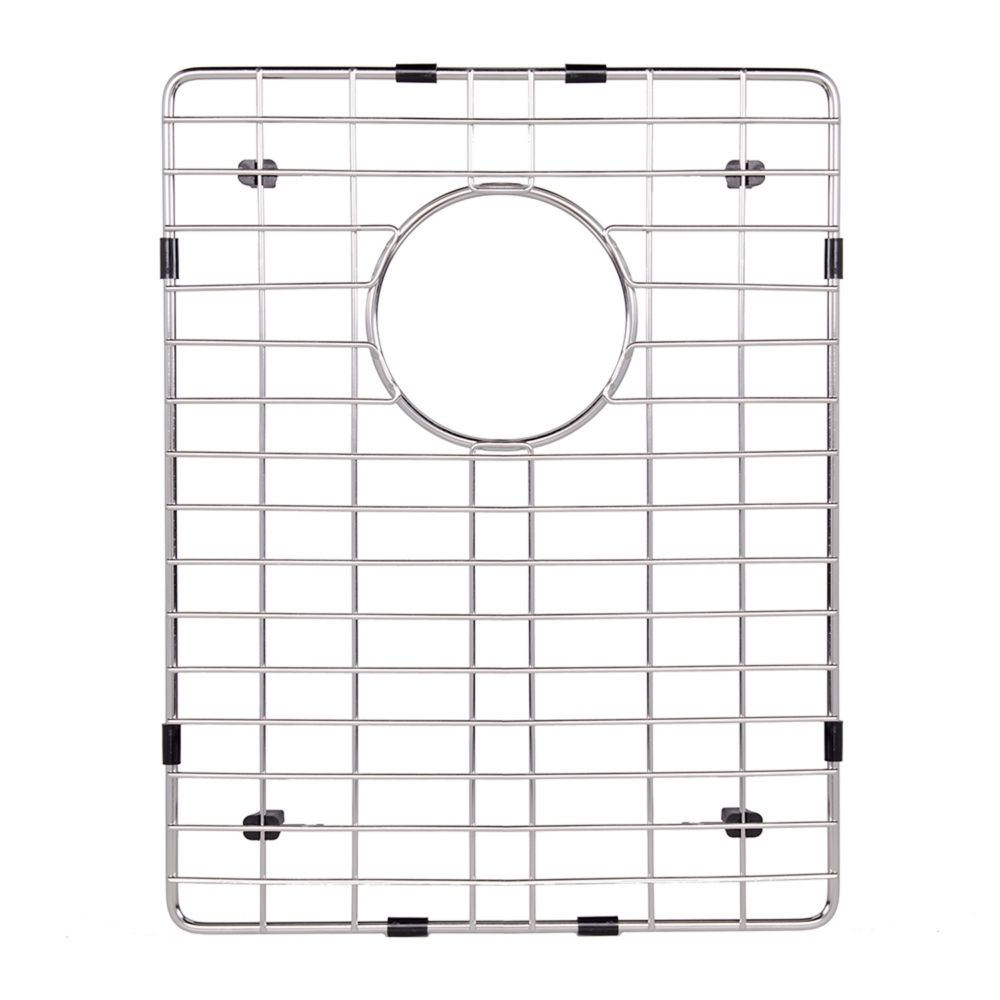 Chrome Kitchen Sink Grid 12 3/4 Inch by 16 1/4 Inch