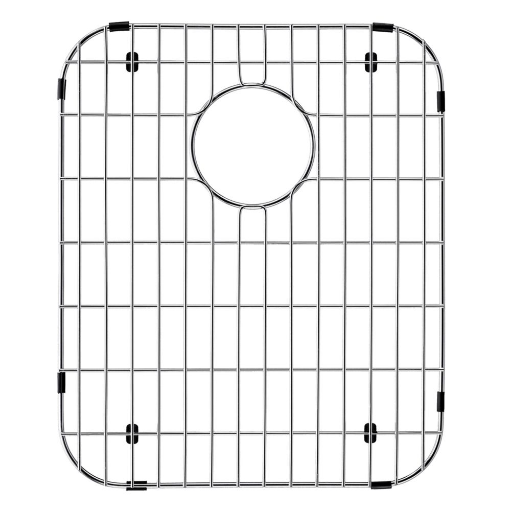 Chrome Kitchen Sink Grid 13 1/2 Inch by 16 1/2 Inch