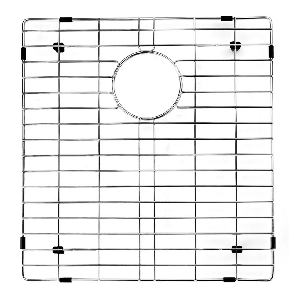 Chrome Kitchen Sink Grid 16.525 Inch by 17.75 Inch