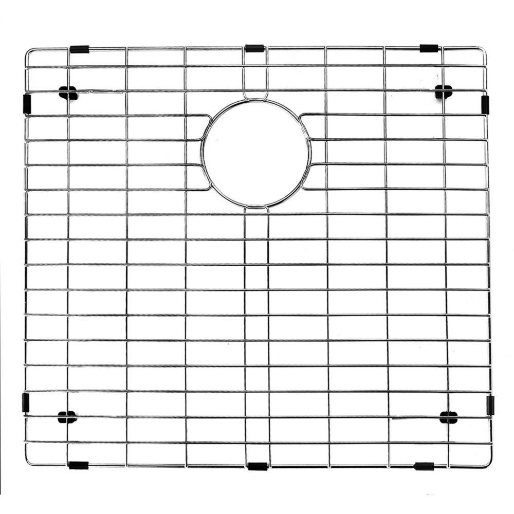Chrome Kitchen Sink Grid 20 Inch by 17 Inch