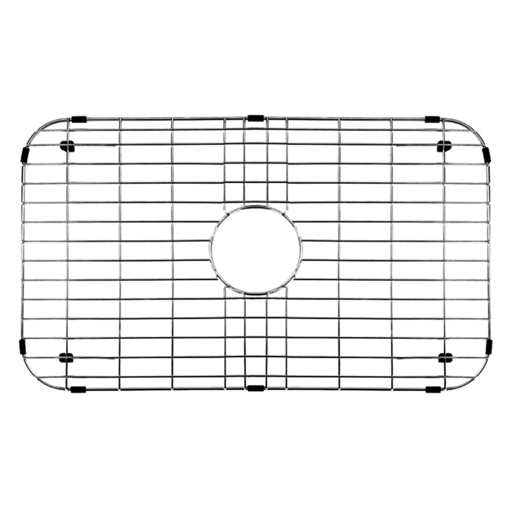 Chrome Kitchen Sink Grid 26 Inch by 14 3/8 Inch