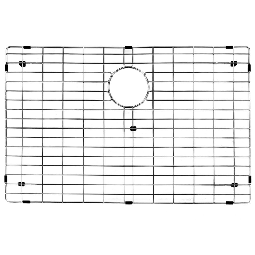 Chrome Kitchen Sink Grid 27 Inch by 16 Inch