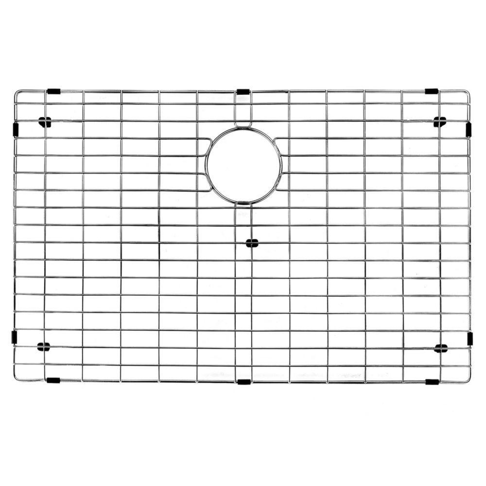 Chrome Kitchen Sink Grid 27 Inch by 17 Inch