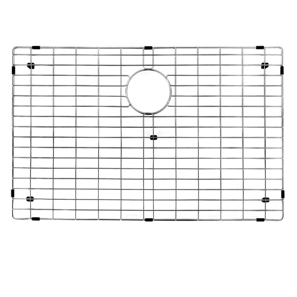 Chrome Kitchen Sink Grid 29 Inch by 16 Inch