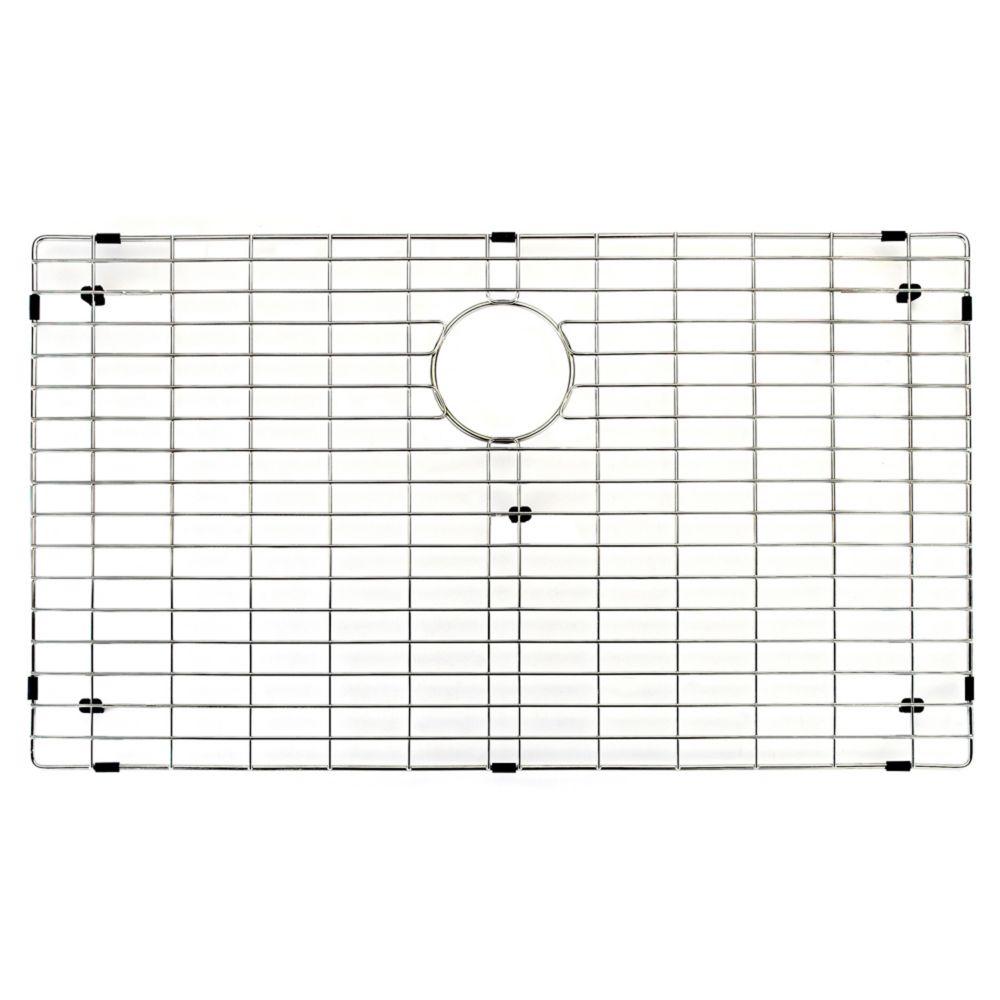 Chrome Kitchen Sink Grid 33 Inch by 17 Inch