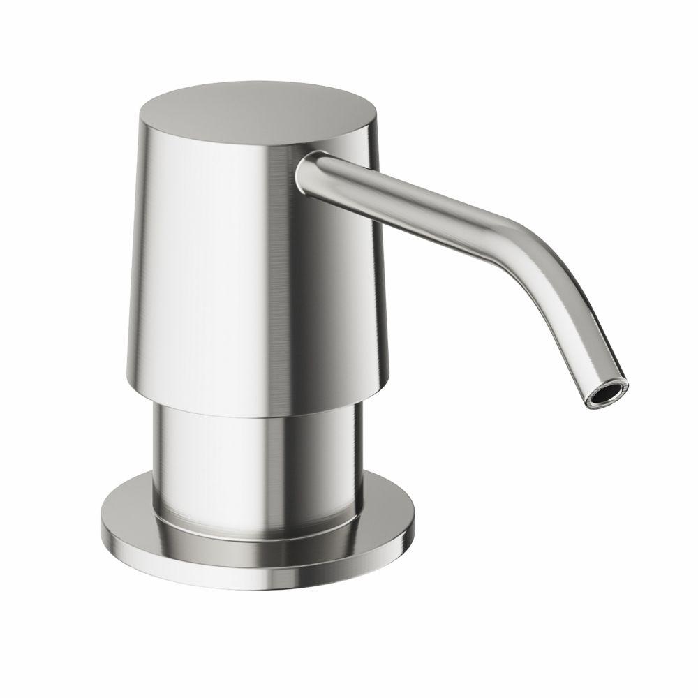Stainless Steel Finish Kitchen Soap Dispenser