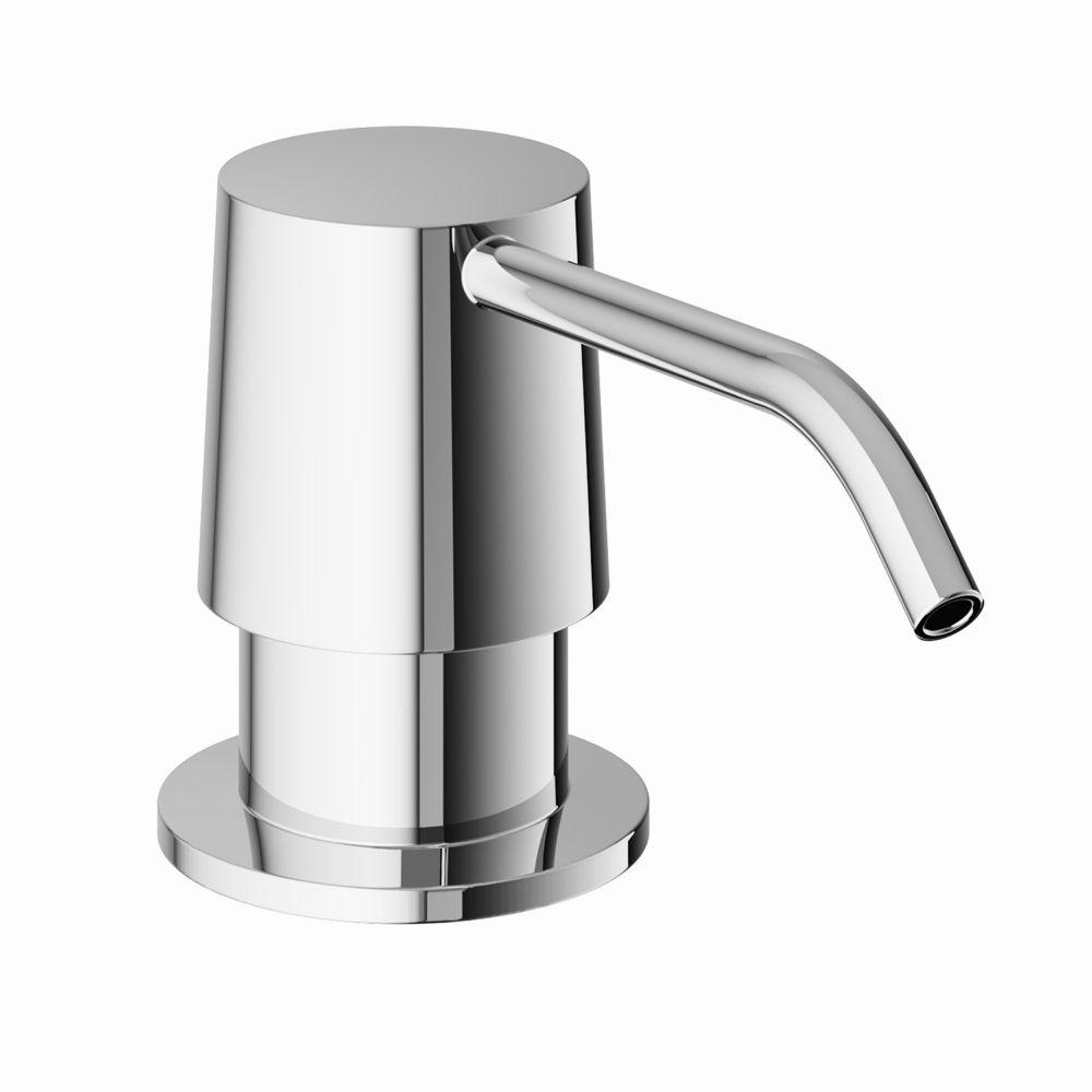 Chrome Kitchen Soap Dispenser