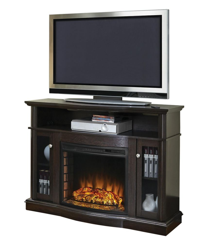 Elliott Media Fireplace - Merlot