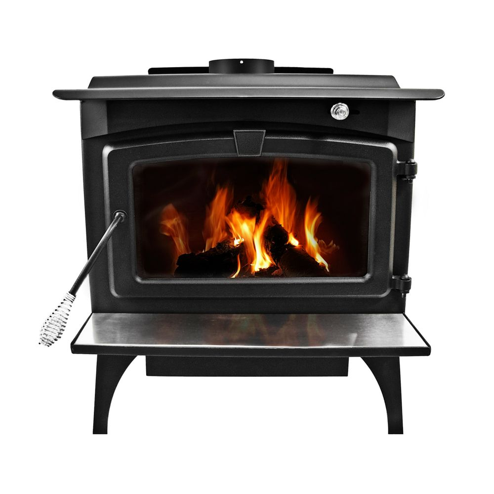 Pleasant Hearth LWS-130291 2,200 Sq. Ft. Large Wood Burning Stove