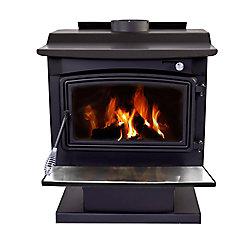Pleasant Hearth WS-3029 2,200 Sq. Ft. Large Wood Burning Stove