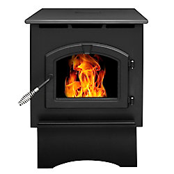 Pleasant Hearth PH35PS 1750 sq. ft. 35,000 BTU EPA Certified Medium Pellet Stove