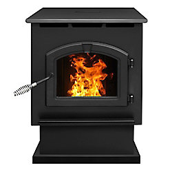 Pleasant Hearth PH50PS 50,000 BTU Large Pellet Stove