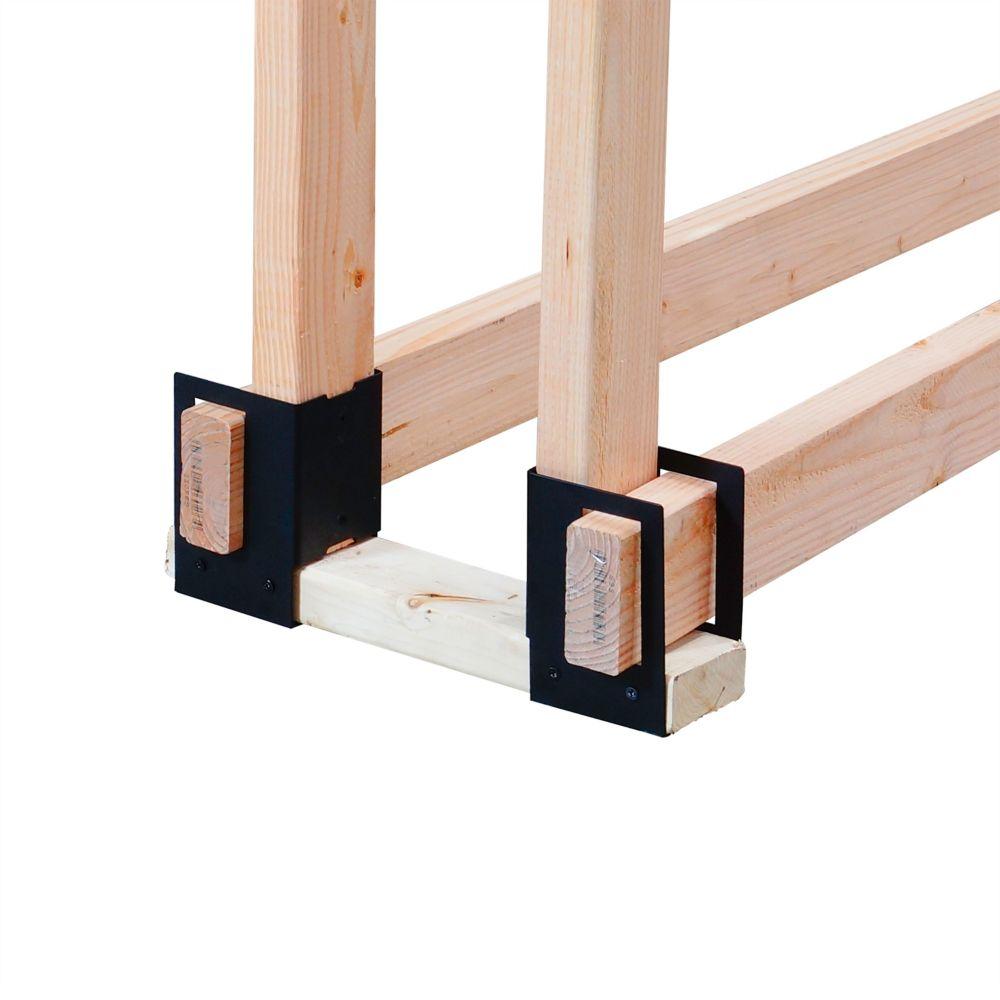 4pc. Log Rack Brackets