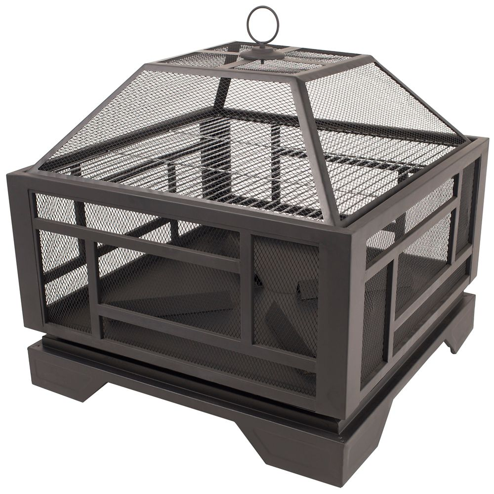 Pleasant Hearth Solus 26-inch Outdoor Fire Pit