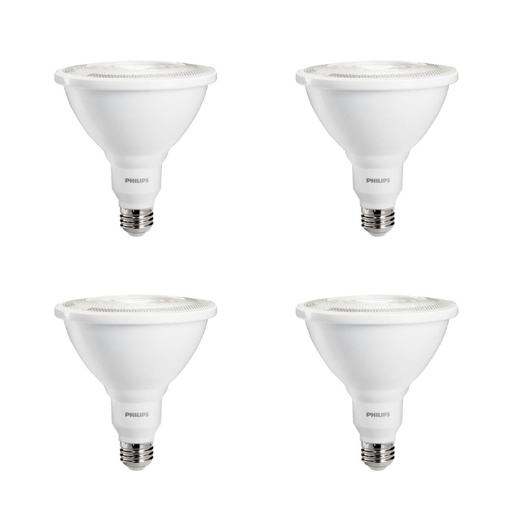LED 100W PAR38 Bright White (3000K) Indoor/ Outdoor - Case of 4 Bulbs