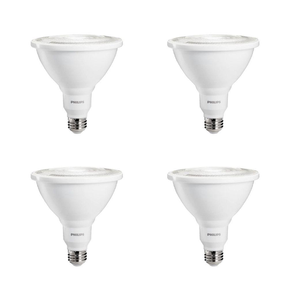 PAR38 DEL à faisceau large d'intérieur/ extérieur 100 W  - Lumière blanc brillant 3 000 K - Cas d...
