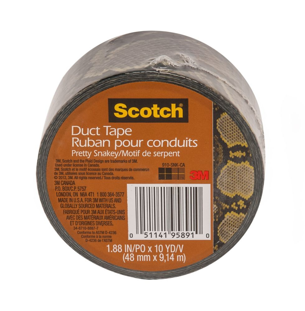 Scotch Duct Tape Snake Skin