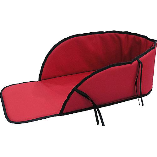 Coussinet rouge pour traîneau