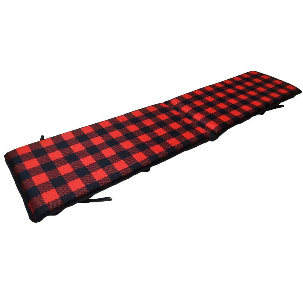 Plaid 6 Foot Toboggan Pad