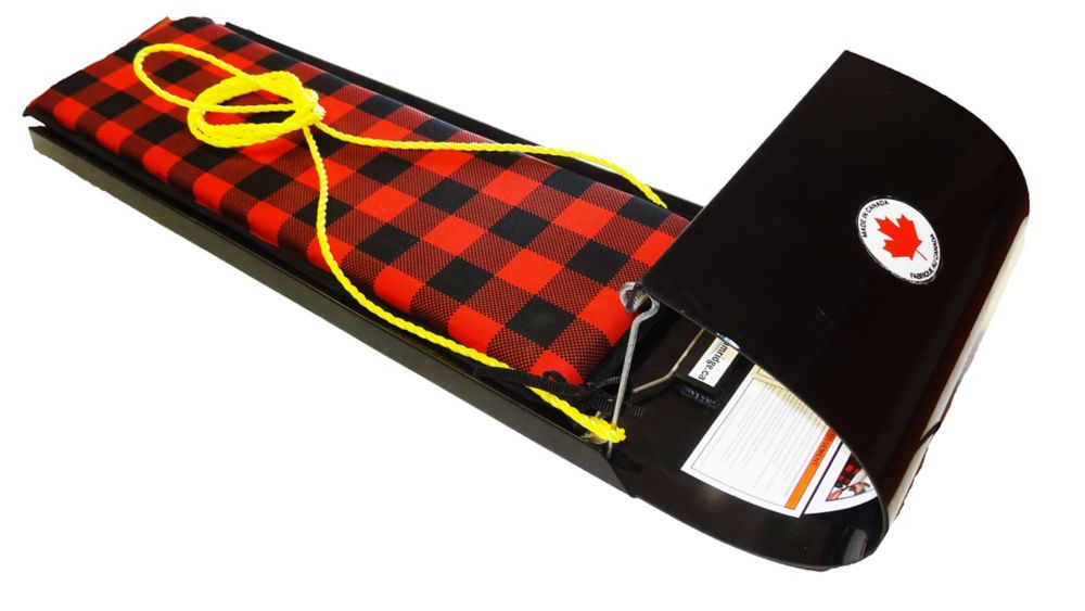 Alpine Super G36 Toboggan - Black