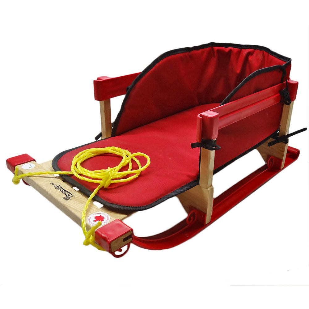 Alpine Slasher Sleigh - Red Pad