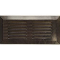 "Finium Grille de Ventillation Surface Érable Urban Grey 4""X 10"""