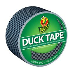 Duck Carbon fibre Printed Duct Tape, 1.88 inch x 10 yds.